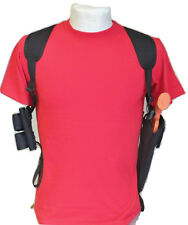 """6"""" Revolver Gun Shoulder Holster with Ammo Pouch for S&W 581, 681, 586 & 686"""