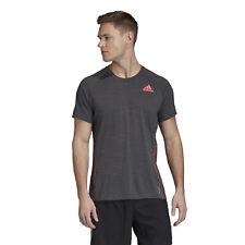 Adidas Men's ADI RUNNER TEE Workout Top Sports Shirt Running Shirt