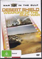 WAR IN THE GULF - DESERT SHIELD - WEAPONS OF THE GULF WAR -  DVD - NEW