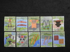 JAPAN COMMEMO STAMPS( UPOPOY NATIONAL AINU MUSEUM AND PARK ) USED