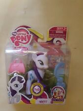 My Little Pony FIM Royal Wedding Series Rarity Brush and Accessories New