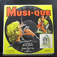 Various - Musi-Que Volume IV Sport March & Documentary Moods LP VG+ BR-1036