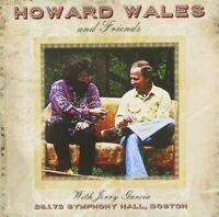 Howard Wales & Friends with Jerry Garcia - Symphony Hall Boston 26.1.72 (CD) NEW