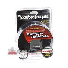 Rockford Fosgate RFDB4 Car Amp 4 AWG Positive/Negative Battery Terminal New