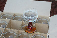 11 Vintage Boxed French Romer Glass Luminarc