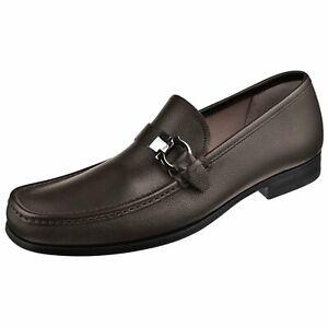 Ferragamo Men's Shoes Adam Gancini Calfskin Loafer