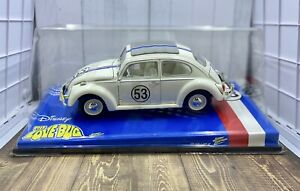 Disney HERBIE The Love Bug #53 VW Beetle 1:18 Diecast Johnny Lightning 2003