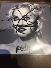 Madonna Living for Love 2015 Polydor 1 Track Cd Promo Rebel Heart +presssticker