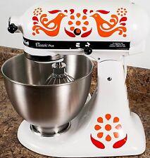 Pyrex Friendship Full Color Kitchenaid Mixer Mixing Machine Decal Art Wrap