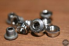 Shimano Dura Ace Track Chainring Bolts - Knurled NJS Keirin Crank - Single Speed