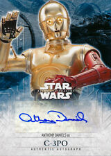 Topps Star Wars The Force Awakens Series 2 Anthony Daniels Autograph Auto (A)