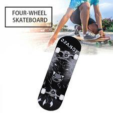 Skateboard Deck Funboard Holzboard komplett 80x20cm Ahornholz Komplettboard