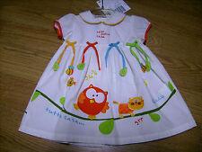 Abito vestito CHICCO bambina neonata 9 mesi Euro 39,90 avorio in cotone!