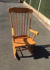 used wooden rocking chair