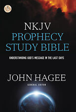 NKJV PROPHECY STUDY BIBLE: 2015 Edition edited by John Hagee **Brand New**