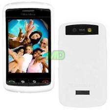 OEM NEW White Sleeve Gel Silicon Skin Case Cover for Blackberry Thunder Storm
