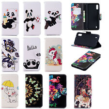 Flip Leather Card Stand Case Cover For Samsung S10 M10 M20 Huawei P30 Y7 2019