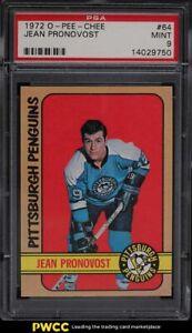 1972 O-Pee-Chee Hockey Jean Pronovost #64 PSA 9 MINT