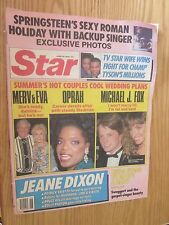 Star June 28,1988 Oprah, Michael J. Fox, Mike Tyson, Springsteen