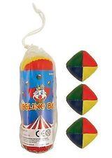 Juggling Balls Set of 3 in Bag Circus Clown Juggler Gift Stocking Filler