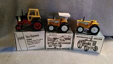Lot of 3 Ertl 1:43 Case Agri King 1170, Minneapolis Moline G750 & G1050 Tractors
