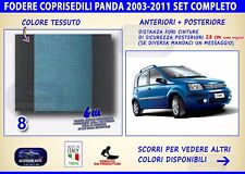 Coprisedili Fiat Panda metano 2003>2011 copri sedili sedile fodere auto colore 8