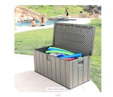 New listing Lifetime Rough Cut 150 Gallon Deck Box
