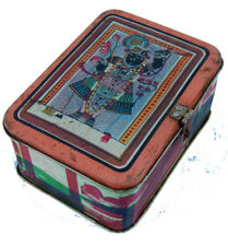 Boite Metal Recycle Kitsch Bollywood 17x13x5cm Inde 324
