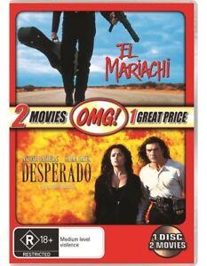 Desperado / El Mariachi. Robert Rodrigez classics. Single DVD - NEW+SEALED