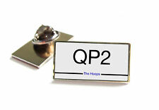 QPR NUMBER PLATE STYLE LAPEL PIN BADGE TIE TACK GIFT
