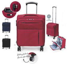 Borsa pilota trolley bagaglio a mano con scomparti apribili e tasca porta pc.