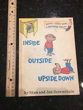 Berenstain Bears Inside Outside Upside Down Book Dr Seuss 6.75