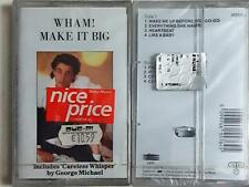 Wham! Make It Big  MC CASSETTE SEALED