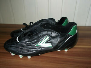 Vintage 90 s Mitre 42 9us Soccer Football Chaussures Crampons Noir/blanc