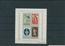Luxembourg Vintage Yearset Yearset 1946 Mi. Block 5 Mint MNH More Sh Shop