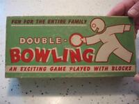 1945 DOUBLE-O-BOWLING GAME, PAT MAFFEO, 145 KIMBERLY AVENUE, NEW HAVEN, CONN