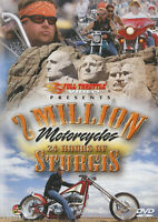 2 Million Motorcycles: 24 Hours of Sturgis (DVD, 2011) New