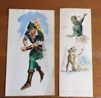 3 dessins originaux couleur BD  personnages de M.Roubinet  M Prince Loyal