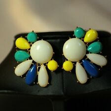 Rings`Ears Nails Original Multicolored white yellow Evening Gift NN 3
