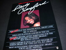 Randy Crawford Is Sold Out and she's a Winner 1982 Promo Poster Ad mint cond