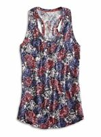 Lucky Brand - Women's S - NWT$39 - Garden Floral Print Cotton Blend Tank Top