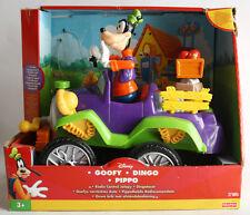 Rare 2000 Fisher Price Goofy Radio Control Jalopy Dingo Pippo Misses Remote