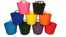 42L FLEXI TUB BUCKET PLASTIC FLEXIBLE TUBS STORAGE CONTAINER FEED TRUG