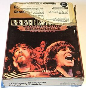 CREEDENCE CLEARWATER REVIVAL  / B+ / 8-track 8 track tape cassette cartridge