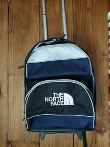 North Face Rolling/backpack Navy/gray/black By Samsonite