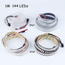 WS2812B Strip LED Lights 5050 RGB 30/60/144 LED/M IC Individual Addressable DC5V