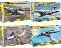 ZVEZDA Modern Russian Military Aiicrafts Plastic Model Kits Scale 1:144