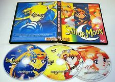 Sailor Moon R S Super S Movies 3 DVD complete Collection Box Set English Dub New