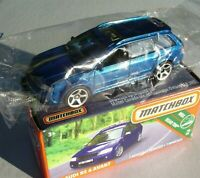 Metalflake Blue 2'02 Audi RS 6 Avant. Matchbox 2019 16/100. GCH93  New in Box!