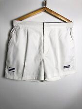 Rare Vtg 90s Adidas Satin Soccer Shorts Nylon Silky Shiny White Large